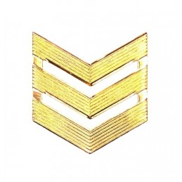 Rank badge,  SGT, dress uniform