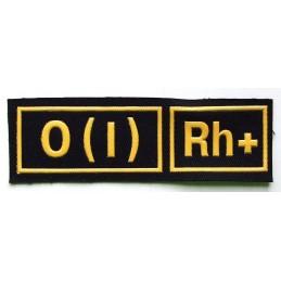 Naszywka 0 (I) Rh+