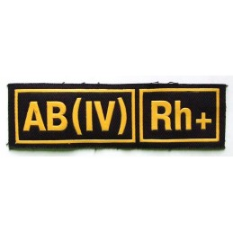 AB (IV) Rh+ stripe