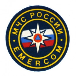"""MChS Russia - Emercom"" patch"