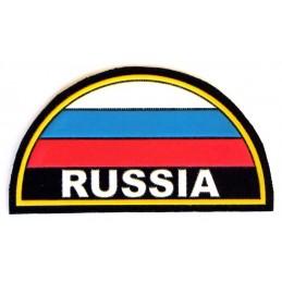 """Naszywka na ramię """"Rosja"""" - łuk z flagą"""