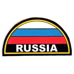 """Russia"" patch on the sleeve - arc with flag"