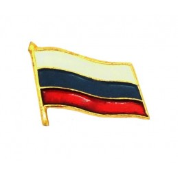 Miniature Russian flag badge