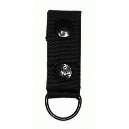 Loop with D-Ring, black