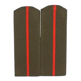 Junior officers epaulets for gimnastiorka - Infantry