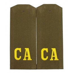"""CA"" (""SA"") epaulets for shirt"