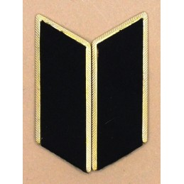 Collar tabs of Land Forces (heavy) for official uniforms