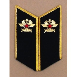 Collar tabs of Trains Troops for official uniforms with tabs