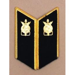 Patki do mundurów wyjściowych Wojsk Budowlanych z korpusówkami