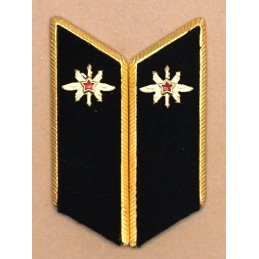 Collar tabs of Contact Troops for official uniforms with tabs