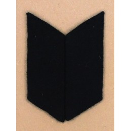 Collar tabs of Land Forces (heavy) for ordinary uniforms