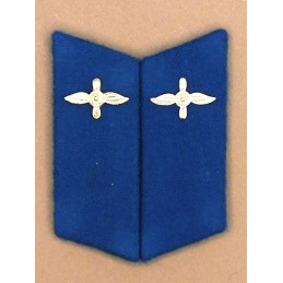 Collar tabs of Aviation for ordinary uniforms, with tabs