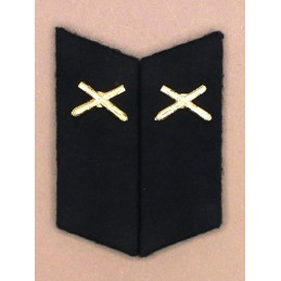 Collar tabs of Artillery for ordinary uniforms, with tabs
