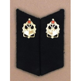 Collar tabs of Engineers for ordinary uniforms, with tabs
