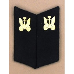 Collar tabs of Vehicles Troops for ordinary uniforms, with tabs