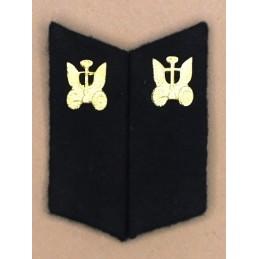 Patki do powszednich mundurów Wojsk Samochodowych z korpusówkami
