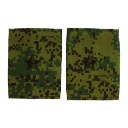 Epaulets for major, camouflage