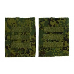Epaulets for sergeant, camouflage