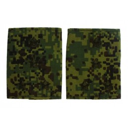 Epaulets for captain, camouflage