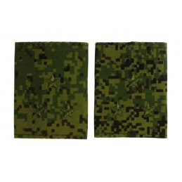 Epaulets for senior leutnant, camouflage