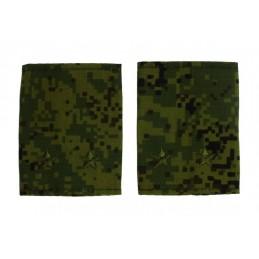 Epaulets for leutnant, camouflage
