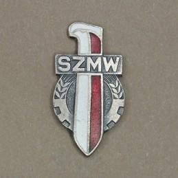 """Odznaka """"SZMW"""" (""""Socjalistyczny Związek Młodzieży Wojskowej"""")"""