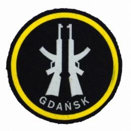 """Naszywka """"Obrona Terytorialna - Gdańsk"""" wz 1986"""
