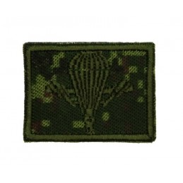 Collar tabs of VDV, on velcro, garrison, Digital Flora background, embroided