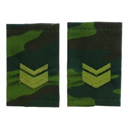 Epaulets for master sergeant, camouflage