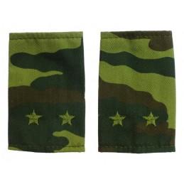 Epaulets for leutnant, camouflage - Flora