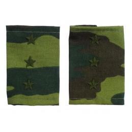 Epaulets for senior warrant officer, camouflage - Flora