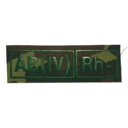 Naszywka AB (IV) Rh- kamuflaż, gaszona