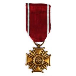 Krzyż Zasługi - PRL - brązowy
