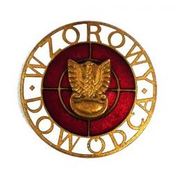 """Perfect Commander"" badge - Brown"
