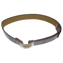 Leather-like field belt