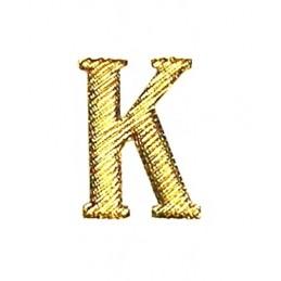 """Metalowa literka """"K"""" na pagony kursantów"""