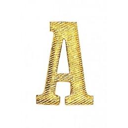 """Metalowa literka """"A"""" na pagony żołnierzy Armii Radzieckiej"""