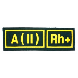 A (II) RH+ tab, green