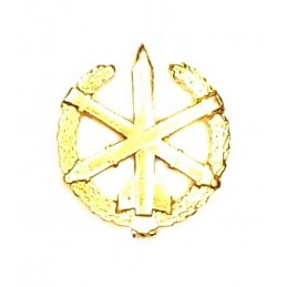 """Rocket & Artillery Forces"" branch insignia, gold"