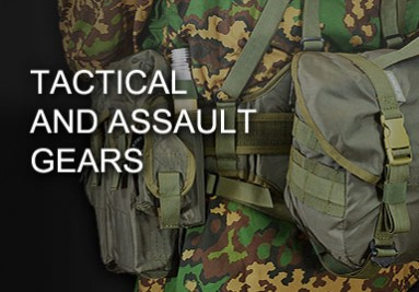 Tactical and Assault Gears