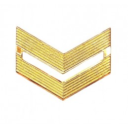 Rank badge, junior SGT, dress uniform