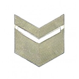 Rank badge, senior NCO, field uniform