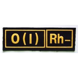 Naszywka 0 (I) Rh-