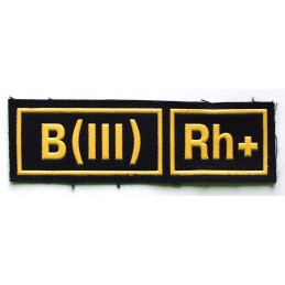 B (III) Rh+ stripe