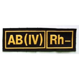 Naszywka AB (IV) Rh-