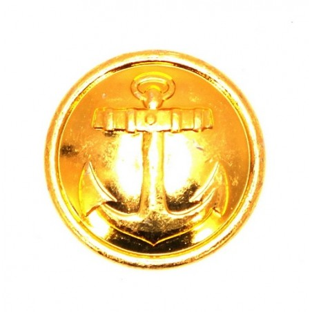 Large button for official uniforms - Navy, modern