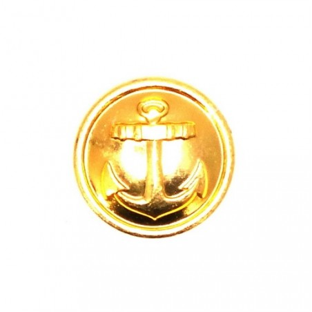 Small button for official uniforms - Navy, modern