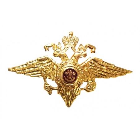 Double-headed eagle for MVD pilotka's