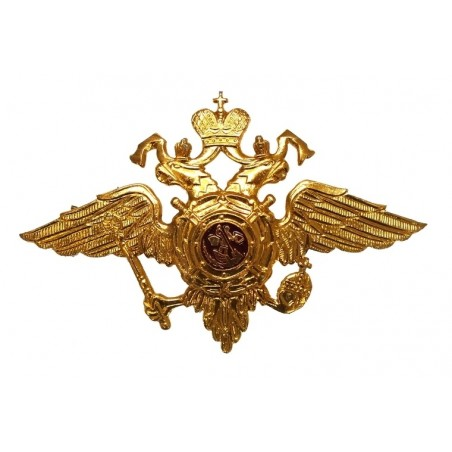 Double-headed eagle for MVD caps