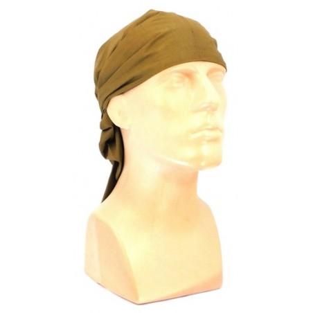 Medical scarf - bandana in olive, big